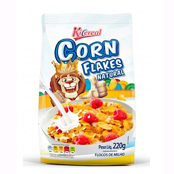 Cereal-Corn-Flakes-Natur-Kicereal-220g