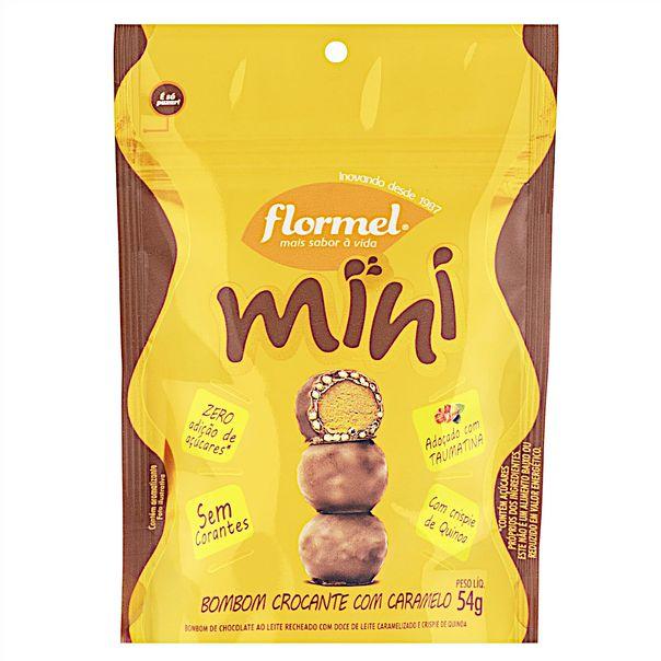 Mini-Bombom-Crocante-com-Caramelo-Flormel-Pouch-54g