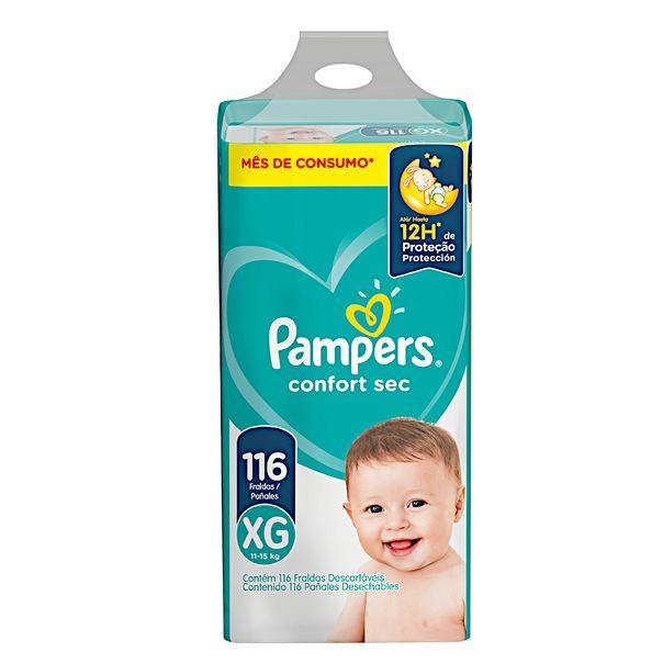 Fralda-Descartavel-Infantil-Confort-Sec-XG-com-116-Unidades-Pampers