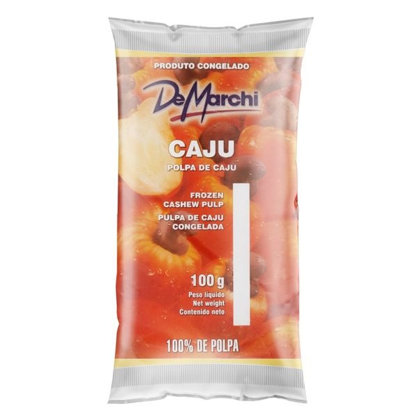 Polpa-de-Fruta-Caju-De-Marchi-Pacote-100g