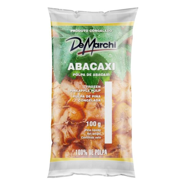 Polpa-de-Fruta-Abacaxi-De-Marchi-Pacote-100g