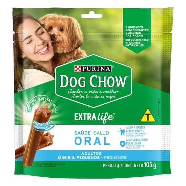 Petisco-para-Caes-Adultos-Racas-Minis-e-Pequenas-Purina-Dog-Chow-Saude-Oral-Pouch-105g-7-Unidades