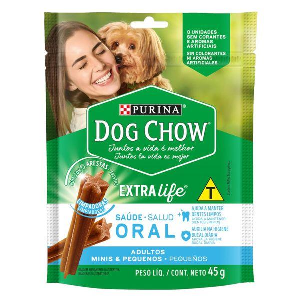 Petisco-para-Caes-Adultos-Racas-Minis-e-Pequenas-Purina-Dog-Chow-Saude-Oral-Pouch-45g-3-Unidades