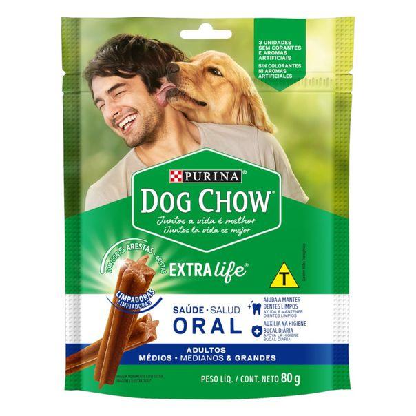 Petisco-para-Caes-Adultos-Racas-Medias-e-Grandes-Purina-Dog-Chow-Saude-Oral-Pouch-80g-3-Unidades