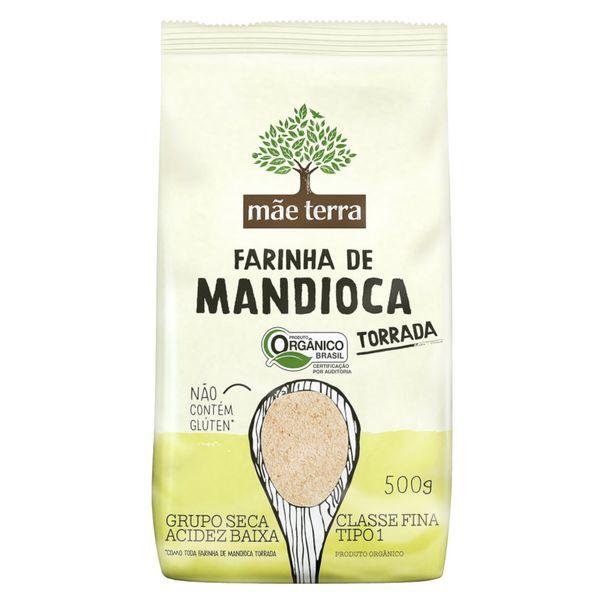 Farinha-de-Mandioca-Tipo-1-Torrada-Organica-Mae-Terra-500g