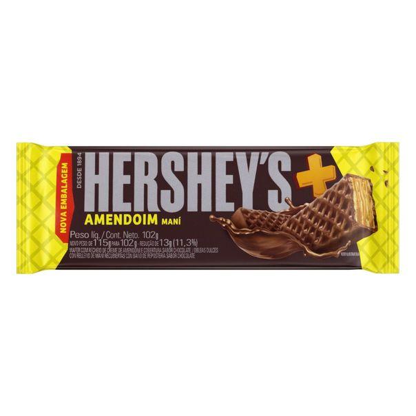 Wafer-Recheio-Amendoim-Cobertura-Chocolate-Hersheys-Mais-102g