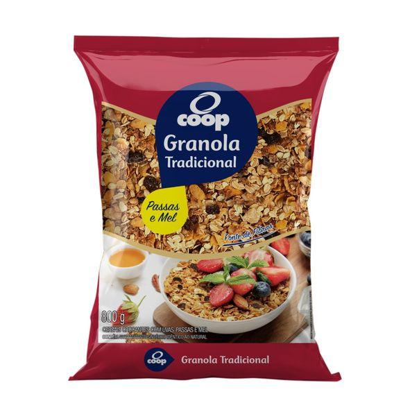 Granola-Tradicional-Passas-e-Mel-Coop-800grs